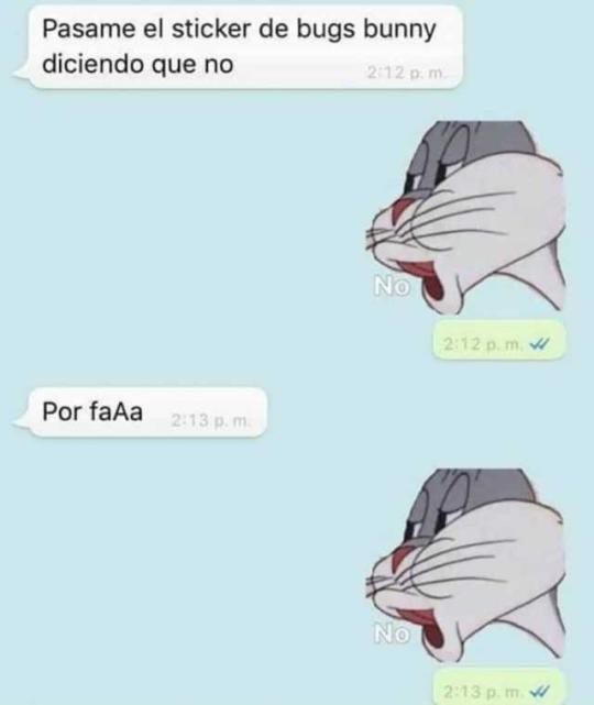 Meme De No Conejo Bugs Bunny | Meme Creation